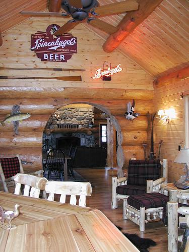 Women Lake Ranger Station Andersen Log Homes Co