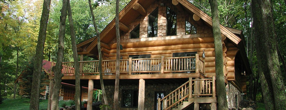 At Andersen Log Homes Company We Emphasize Quality Over Quantity