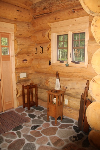 Foyer And Entryways Unlimited : Kamp ketchumwali andersen log homes co
