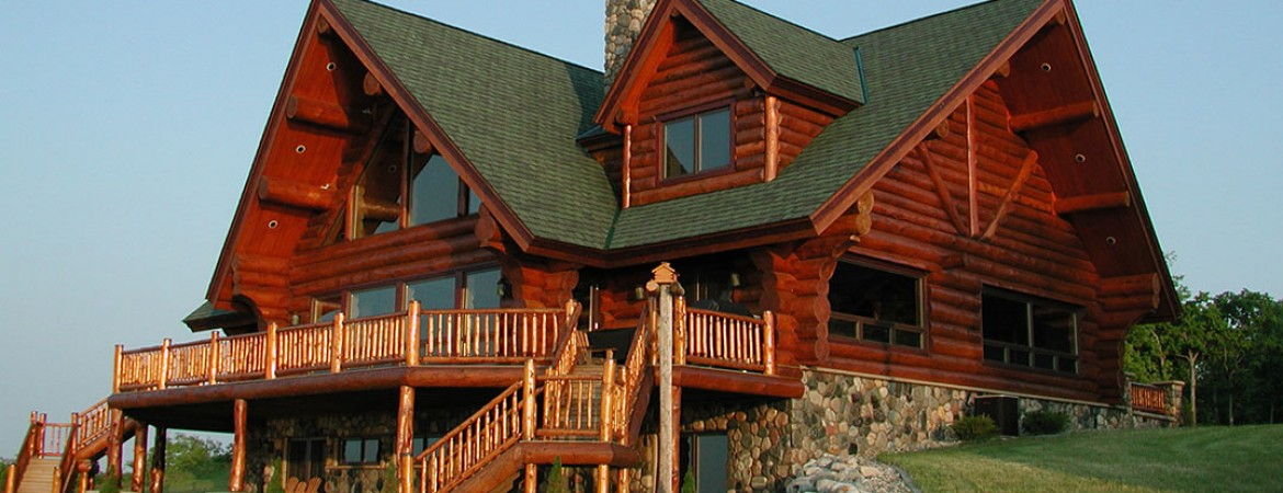 At Andersen Log Homes Company, We Emphasize Quality Over Quantity.