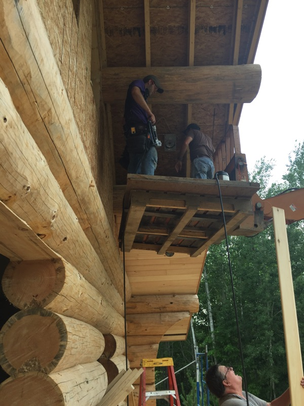 The Bear Paw - Andersen Log Homes Co